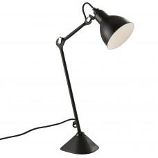765917 (MТ1201802-1А) Настольная лампа LOFT 1х40W E14 черный (в комплекте)
