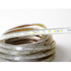 Светодиодная лента 220 V LP IP68 5050/60 LED (холодный белый, standart, 220)